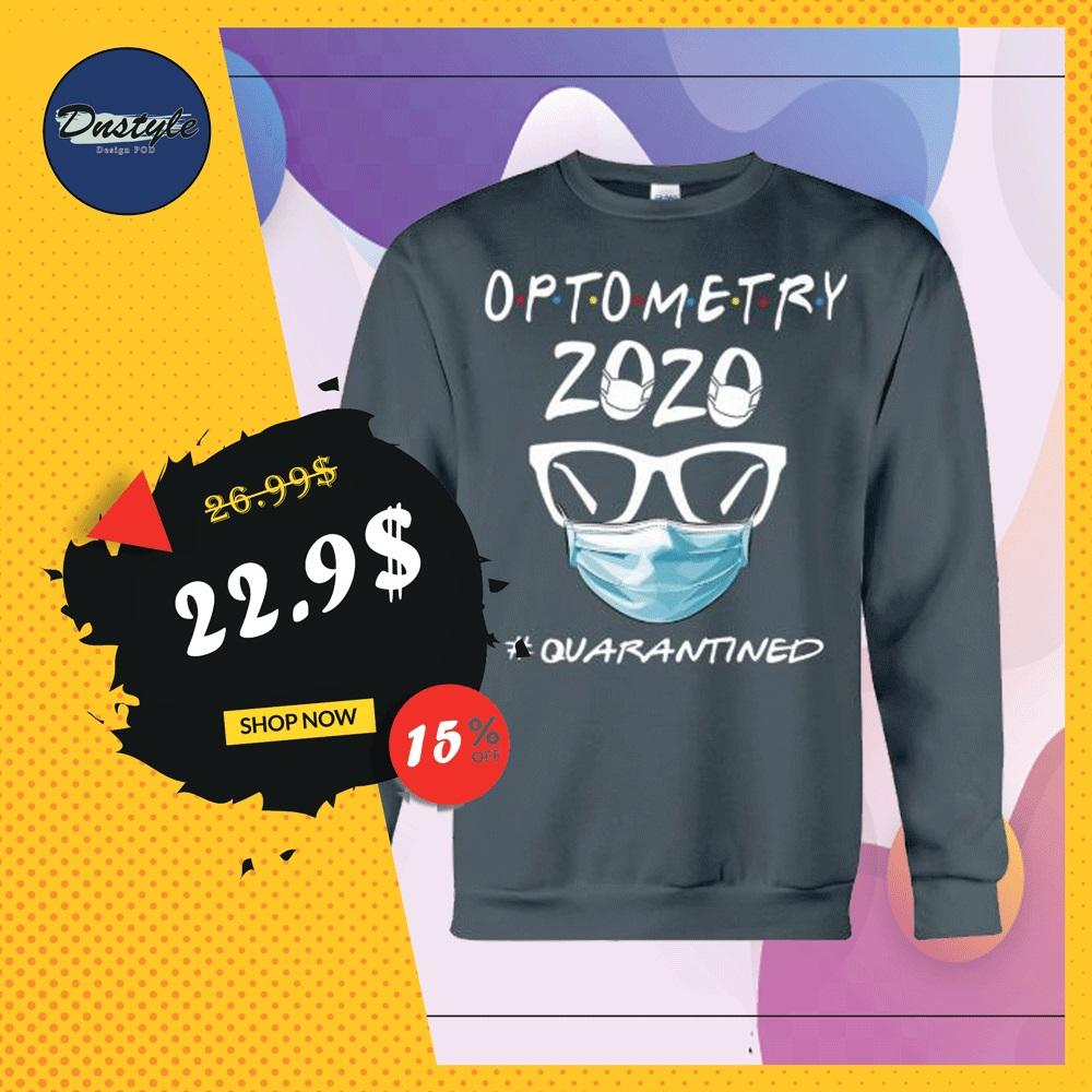 Optometry 2020 quarantined sweater