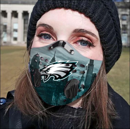 Philadelphia Eagles filter activated carbon face mask