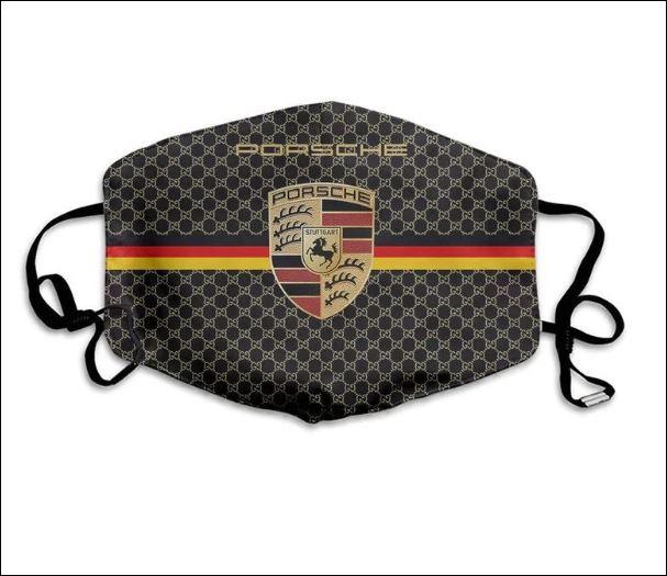 Porsche logo face mask 1