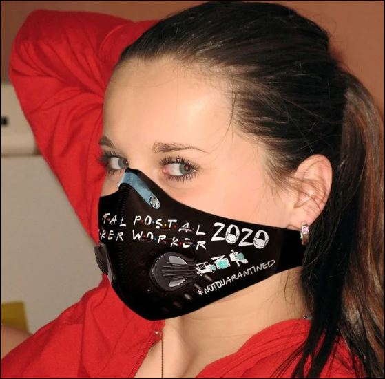Postal worker 2020 not quarantined activated carbon Pm 2.5 Fm face mask
