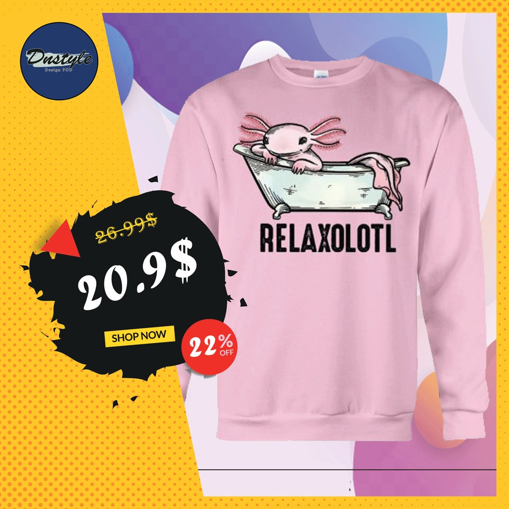 Relaxolotl sweater