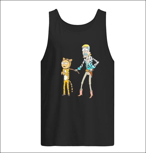 Rick and Morty Joe Exotic Tiger King tank top