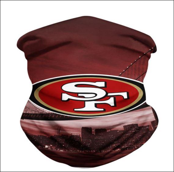 San Francisco 49ers neck gaiter