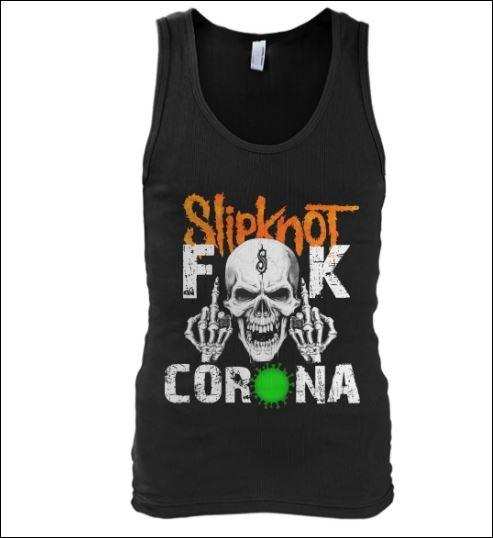 Slipknot fuck corona tank top