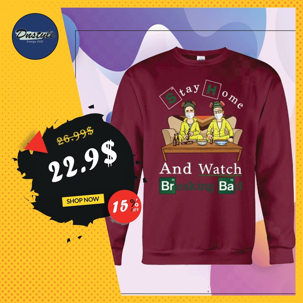Stay home and watch Breaking Bad sweater