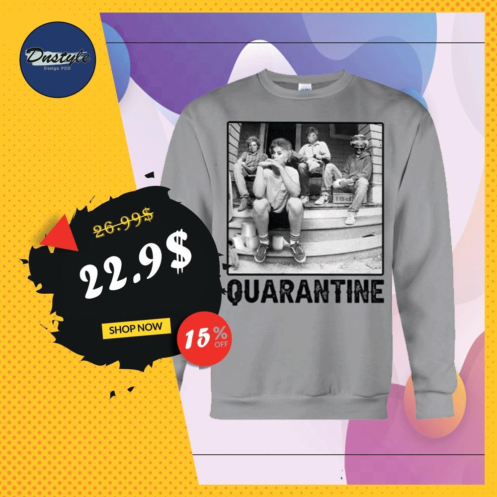 The Golden Girl squad quarantine sweater