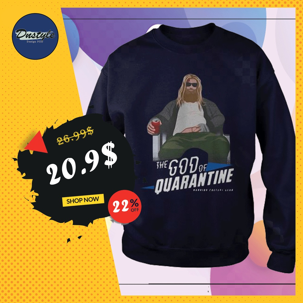 Thor the God of quarantine sweater
