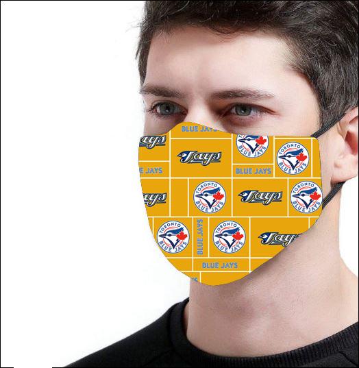 Toronto Blue Jays logo face mask 3D