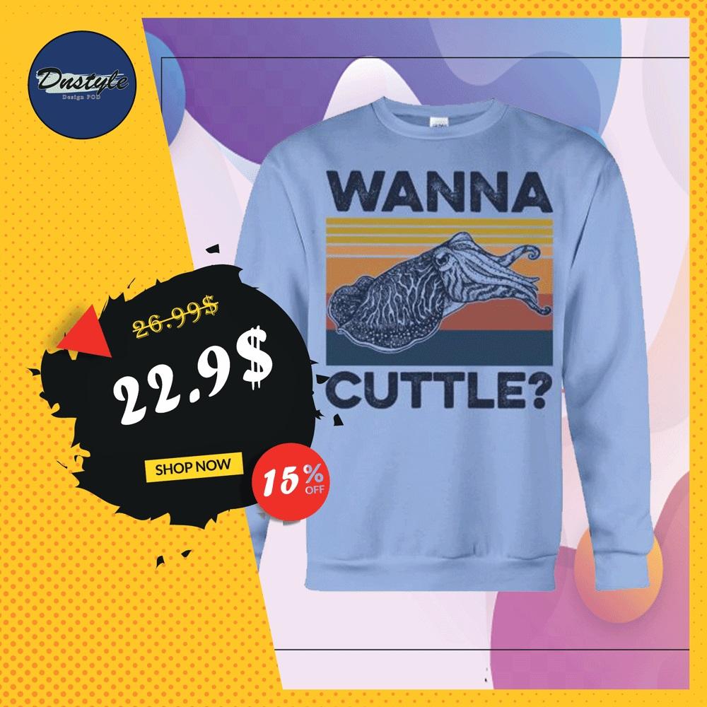 Wanna cuttle vintage long sleeved