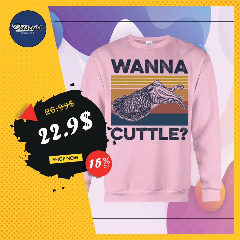 Wanna cuttle vintage sweater