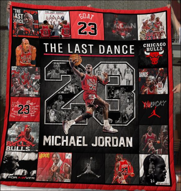 23 Michael Jordan the last dance quilt