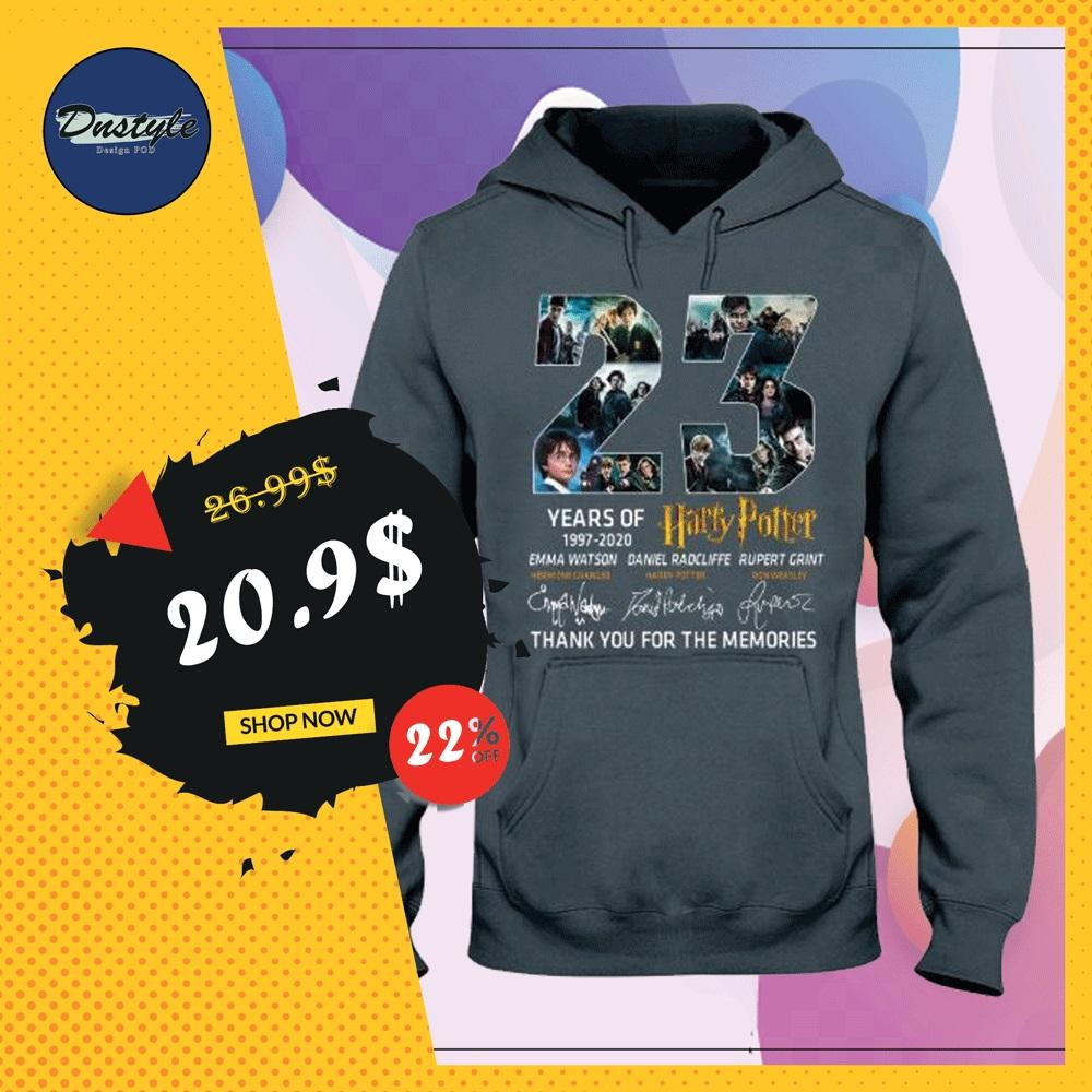 23 years of Harry Potter hoodie
