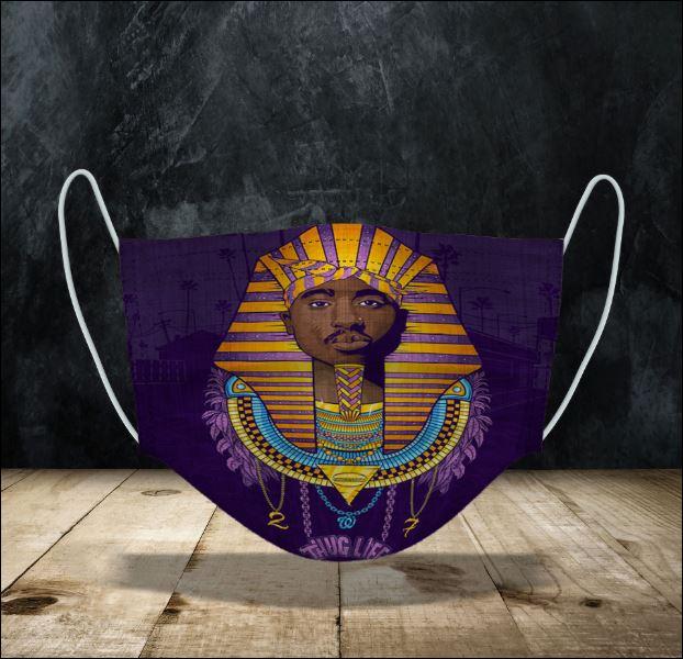 2Pac Pharaoh face mask
