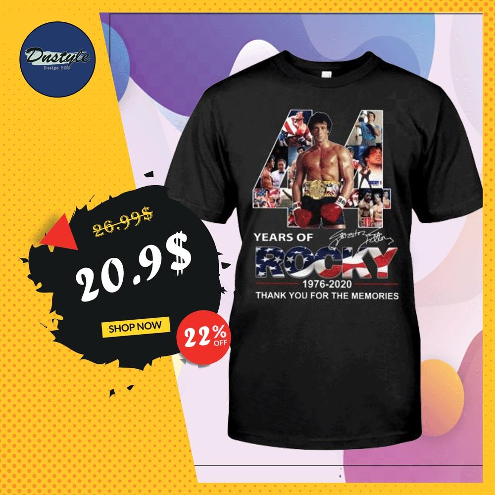 44 years of Rocky shirt