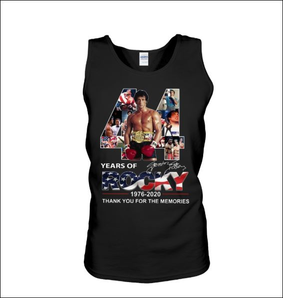 44 years of Rocky tank top