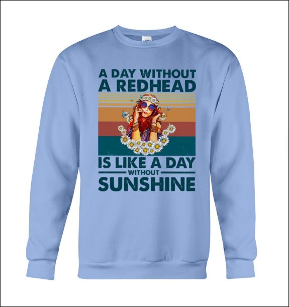 A day without a redhead is like a day without sunshine sweater