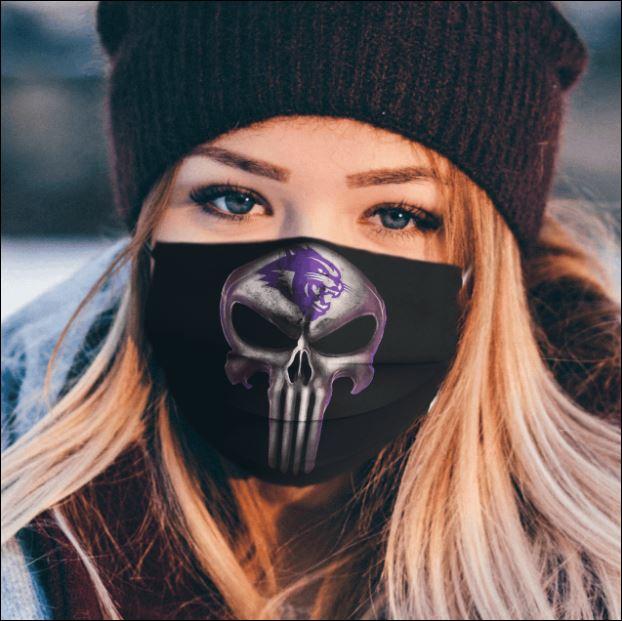 Abilene Christian Wildcats The Punisher face mask
