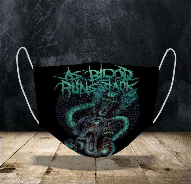 As Blood Runs Black face mask