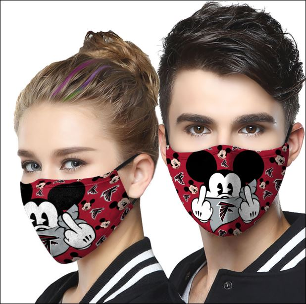Atlanta Falcons Mickey mouse face mask
