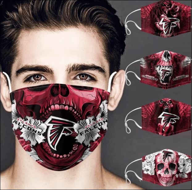 Atlanta Falcons skull face mask