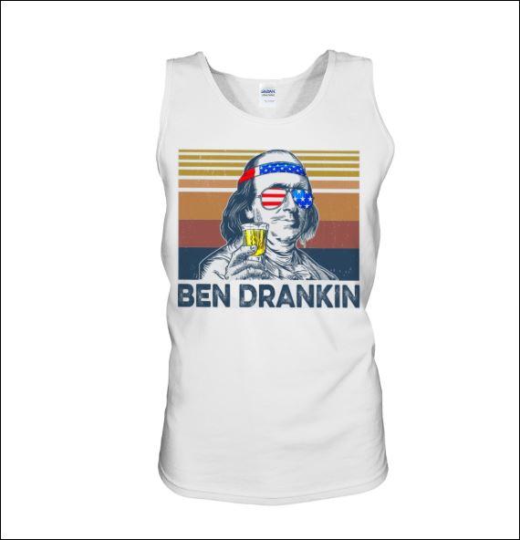 Ben Drankin vintage tank top
