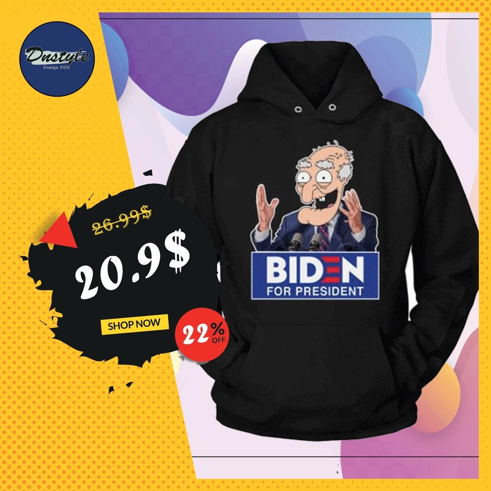 Biden for president hoodie