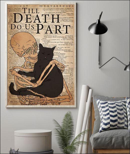 Black cat till death do us part poster 1