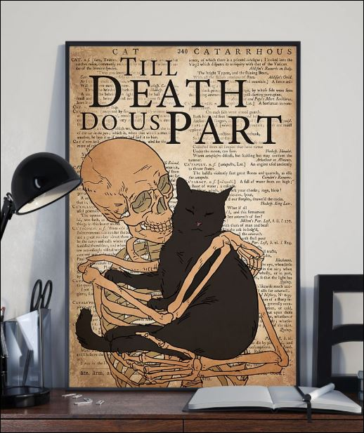 Black cat till death do us part poster 2