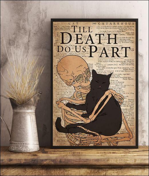 Black cat till death do us part poster 3