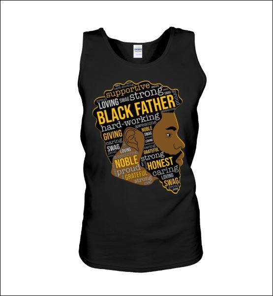 Black father tank top