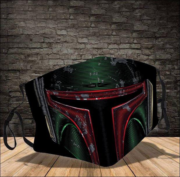 Boba Fett Star Wars face mask
