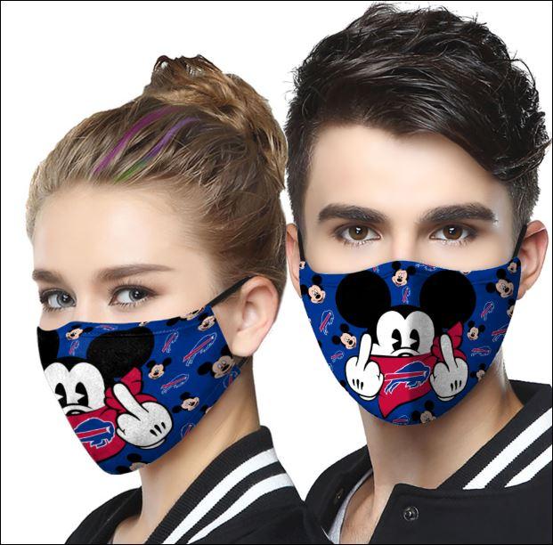 Buffalo Bills Mickey mouse face mask