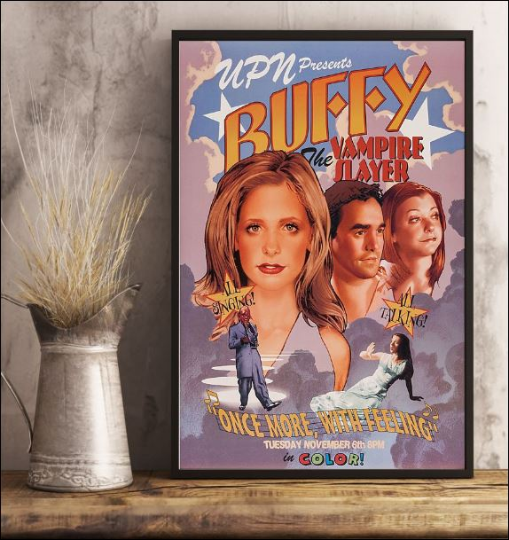 Buffy the vampire slayer once more with feeling poster 3
