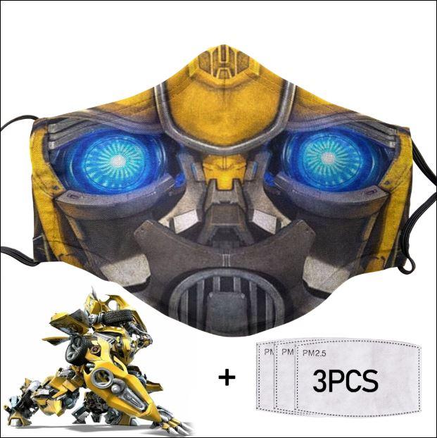 Bumblebee face mask