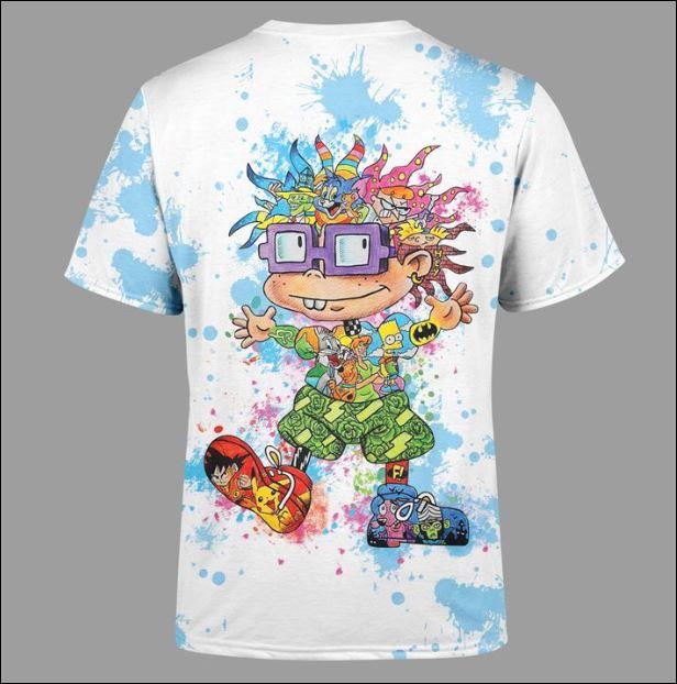Chuckie Finster 3D shirt back