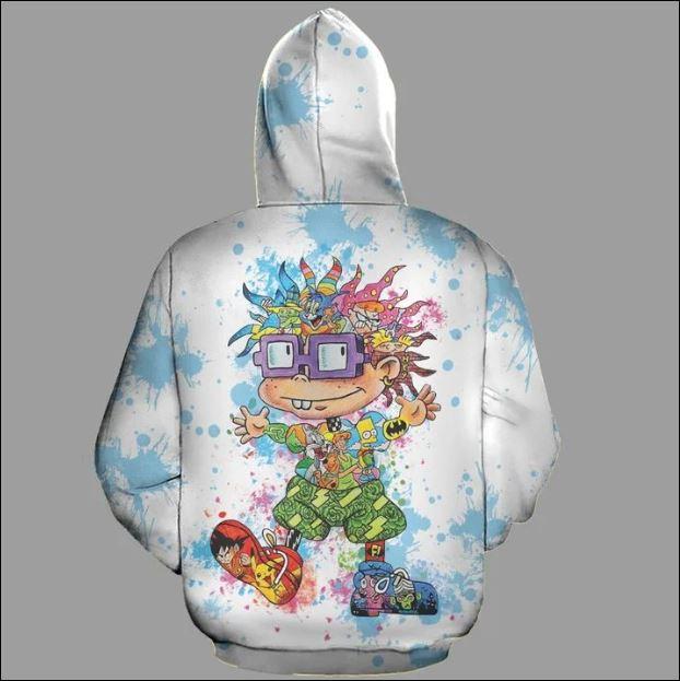 Chuckie Finster 3D zip hoodie back