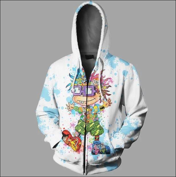 Chuckie Finster 3D zip hoodie