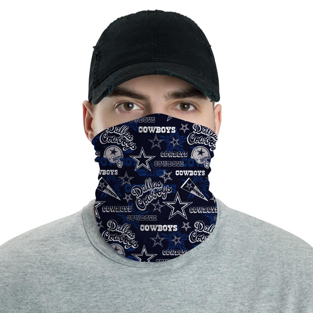Dallas Cowboys Face Mask Bandana 1