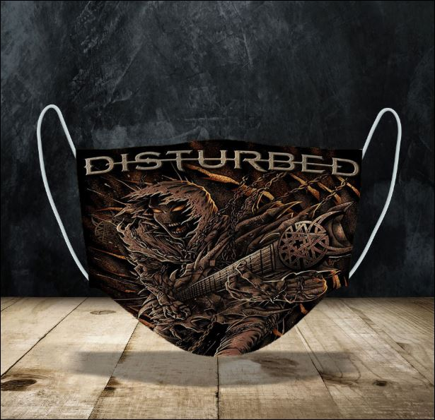 Disturbed face mask