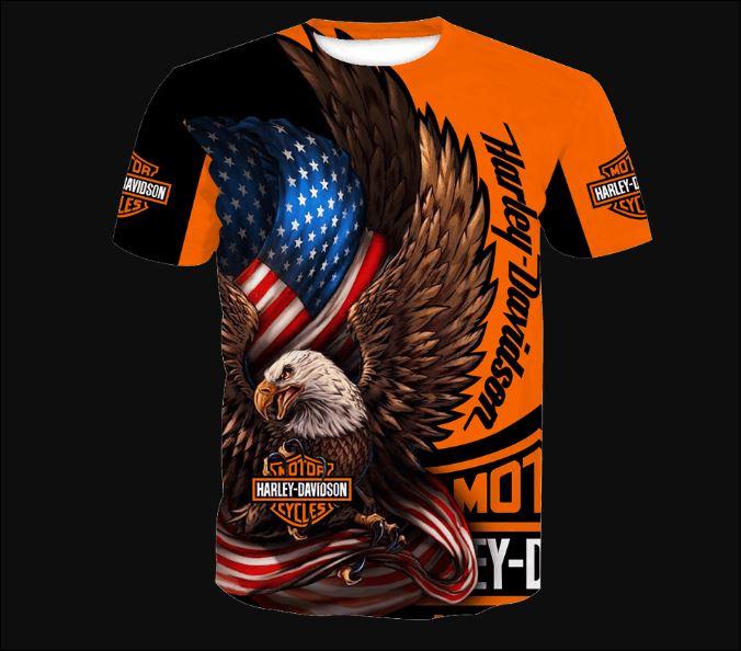 Eagle Harley Davidson 3D shirt