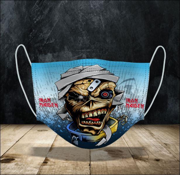 Eddie Iron Maiden face mask