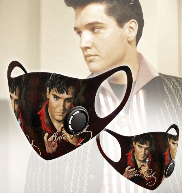 Elvis Presley filter activated carbon face mask 1