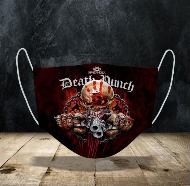 Five Finger Death Punch face mask