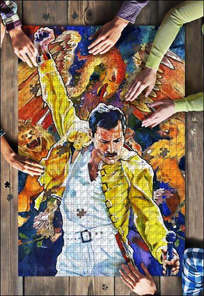 Freddie Mercury Jigsaw Puzzle