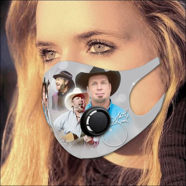 Garth Brooks filter activated carbon face mask