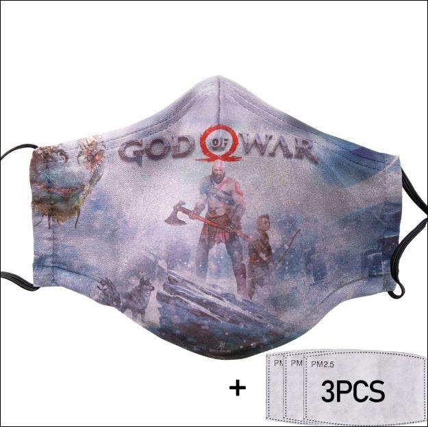 God of War face mask