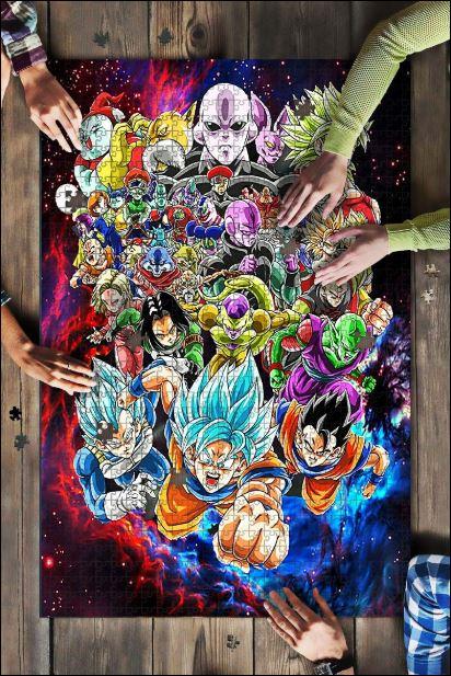 Goku Jigsaw Puzzle