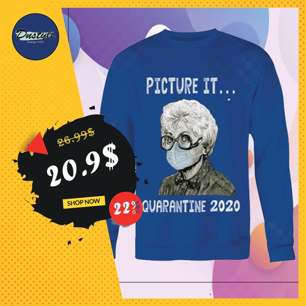 Golden Girl picture it quarantine 2020 sweater