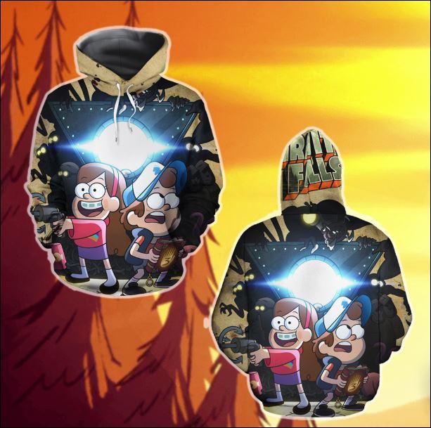 Gravity Falls 3D hoodie