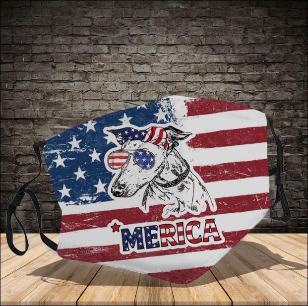 Greyhound America face mask